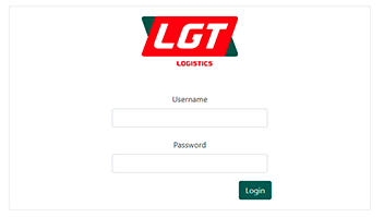 Login to LGTS web booking system